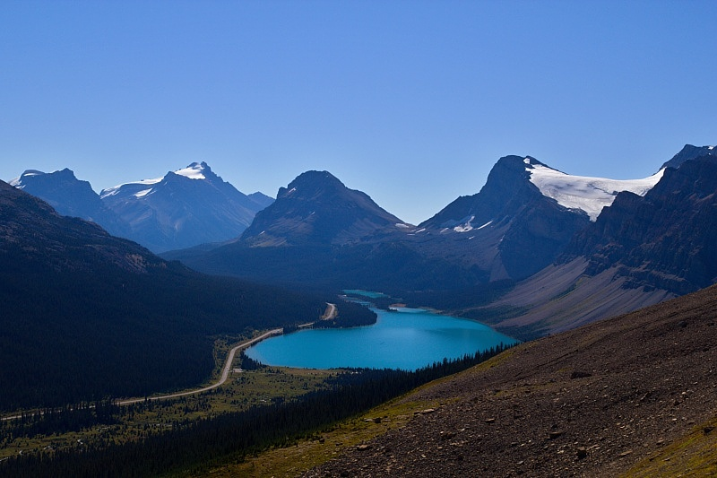 Bow Lake Lookout